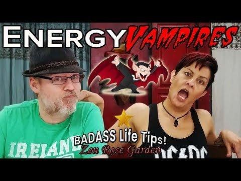 How To Stop Energy Vampires in Relationships | Blocking Energy Vampires