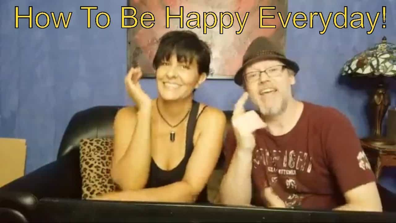 How To Be Happy Everyday. Personal Development To Relieve Stress And Anxiety