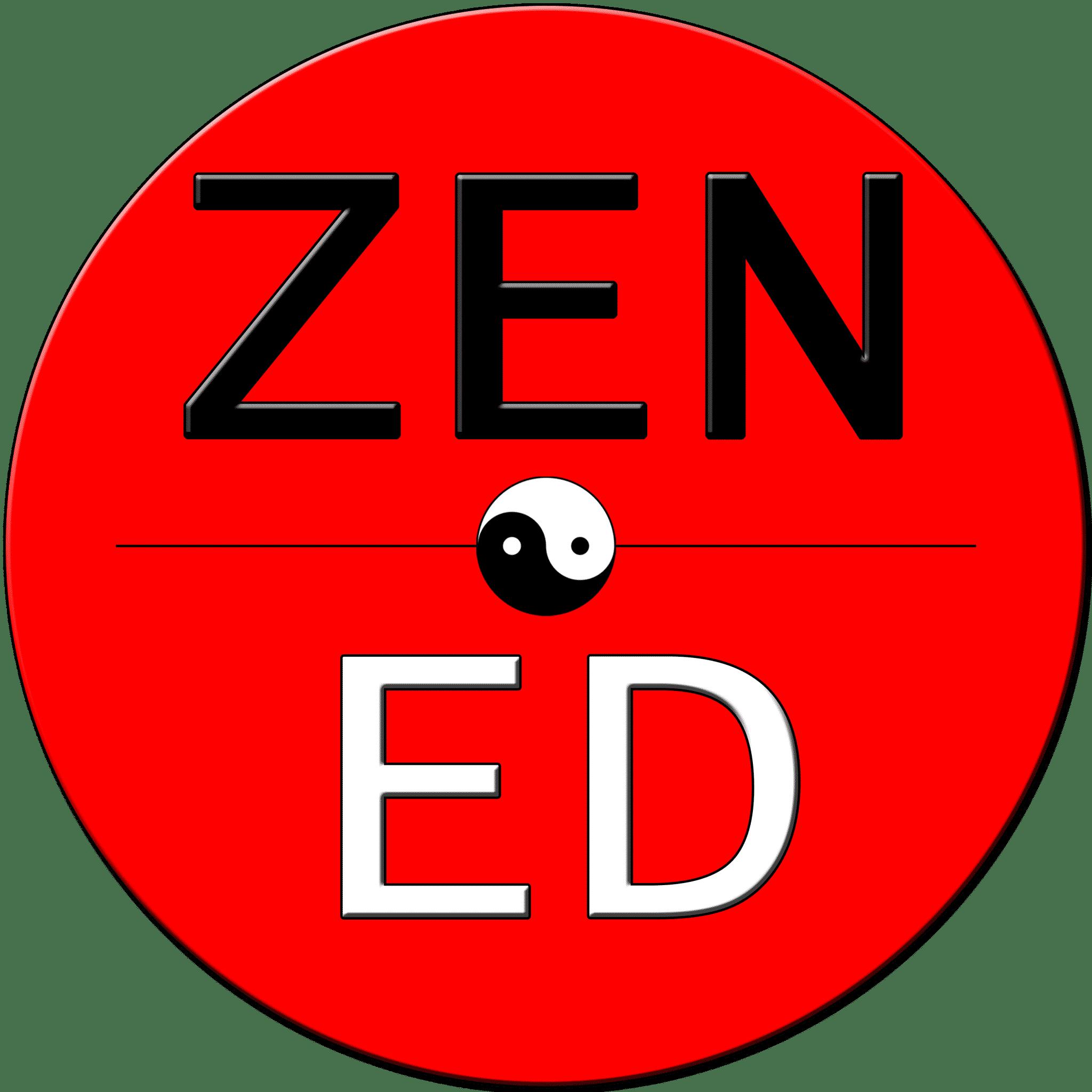 Zen Ed Academy, Logo, Zen Ed Academy Membership, Personal Development, Mediumship Training, Zen Rose Garden, Helping People Create BADASS Lives, Las Vegas, NV, David A Caren, Heather Kim Rodriguez