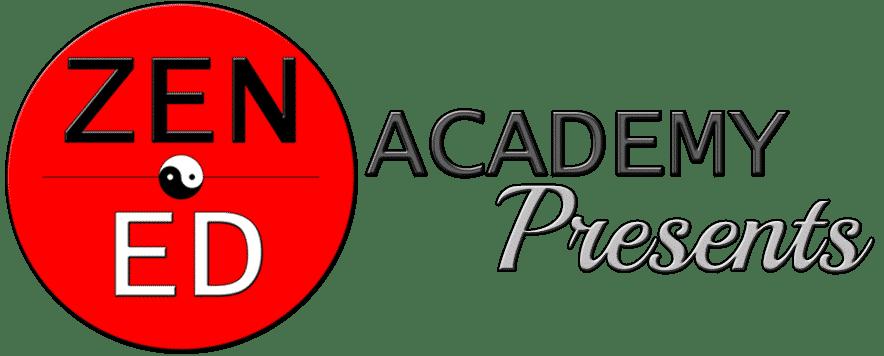 Zen Ed Academy Presents Silver No BG 02